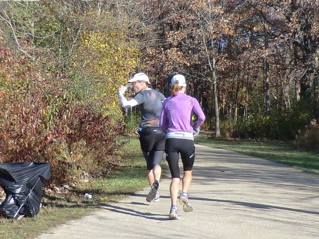 Saturday October 20, 2012 : 2.7 Miles into the DPR Trail Half-Marathon