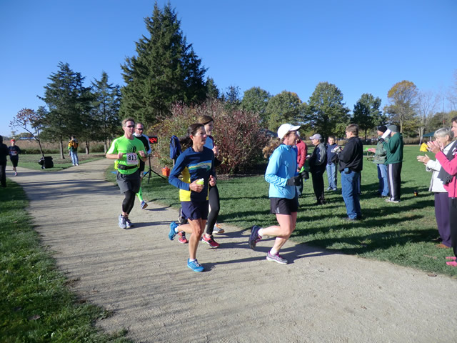Half-Marathoners Complete their First 2.6 Miles : Saturday October 19th, 2013