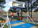 Dan Routhieaux of Olathe, Kansas Hits the Finish Line of his 50-Mile Ultra