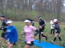 And they're off... Start of the Carboniferous Fall 50-Km