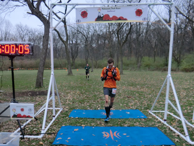 Ron Baker finishes first in his age group and 5th overall in the Paleo-Carb 50-Km!