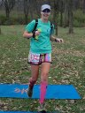 The Hermanator... Elizabeth Hermans finishes Paleo-Carb 50-Km 3rd in her age group!