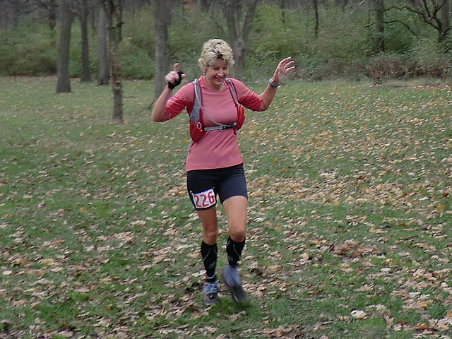 Elizabeth Coll... Carboniferous Fall 50-Km Top Female Masters champion!