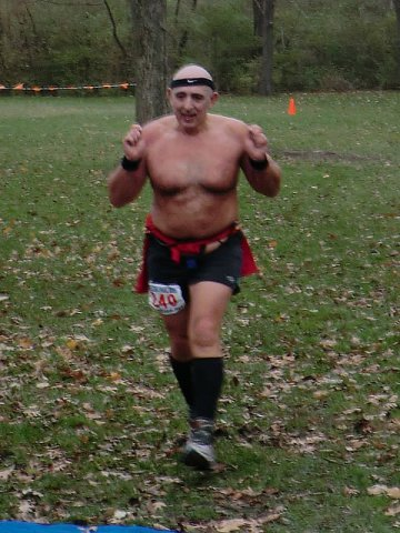 Warm-blooded Boris Tannenbaum finishes Paleo-Carb 50-Km 1st place in his age group!