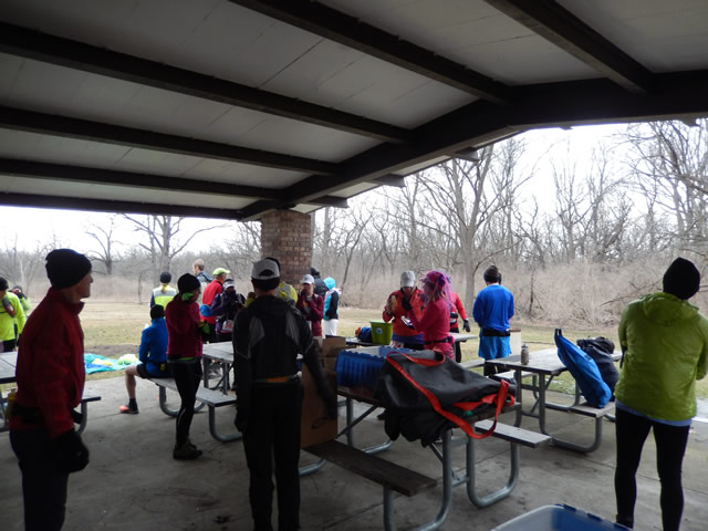 Prior to Start of Paleo-Camb 50-Km : Saturday March 22, 2014