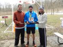Bart Worwa of Itasca is Race Champion of PTR Cambrian Spring 50-Km!