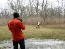 Action at Palos Park Woods-North Aid Station