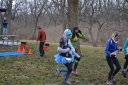 50-Km Runners Depart Palos Park Woods-North : Laurel Childress