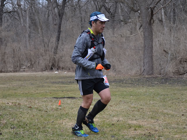 Dennis Duria Completes His 1st Lap and Returns to Palos Park Woods-North : Laurel Childress