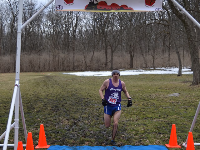 John Stuligross Finishes Paleo-Camb 25-Km in Second Place : Laurel Childress