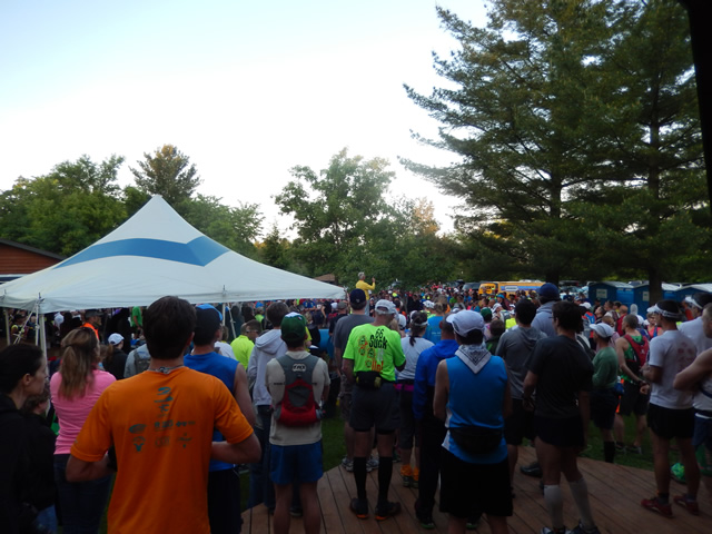 Gathering for the Start of the 2014 Kettle : Saturday June 7th, 2014