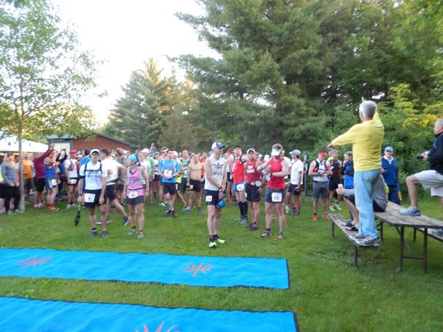 And They're Off... Start of the 2014 Kettle 100 Endurance Runs : 6:00 am - Saturday June 7th