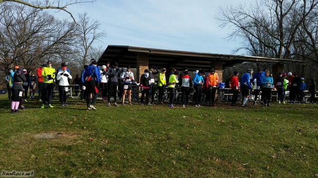 Start of Devonian Fall 25-Km : Saturday November 15, 2014