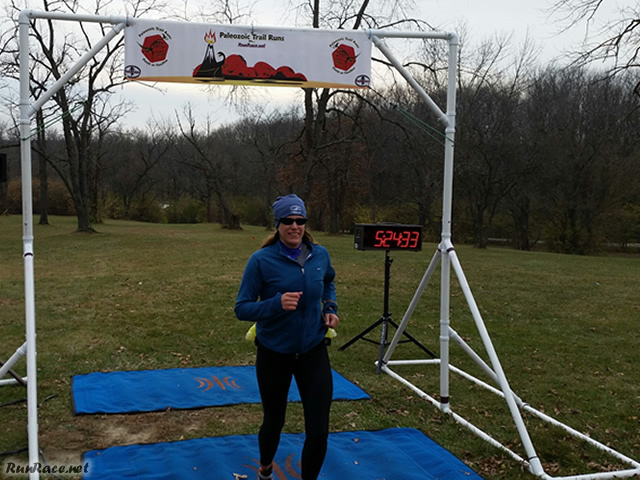 50-Km First-timer, Irene Smielewski Finishes as Third Female : Saturday November 15, 2014