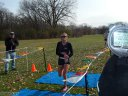 Women's Masters Champion Paula Gaspardo of RKPT XC : Sunday November 9, 2014
