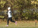 Running the Outbound Parade Loop of Devonian Fall 25-Km : Saturday November 15, 2014