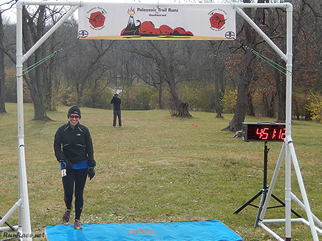 50-Km First Place Female, Shelley Cook : Saturday November 15, 2014