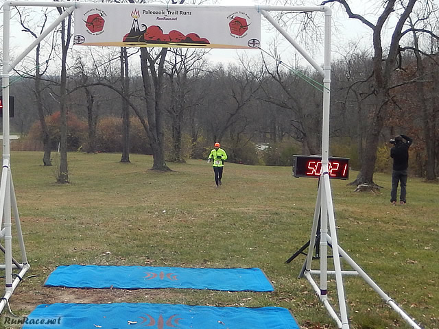 50-Km Runner Joseph Tota, in at Five Hours : Saturday November 15, 2014