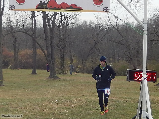50-Km Runner Mark Carlson, Earns an Age Division Award : Saturday November 15, 2014