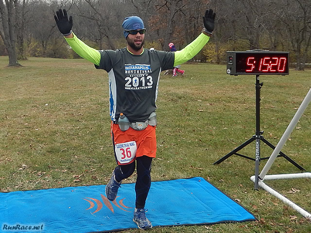 50-Km First-timer, Kevin Listro Makes it Look Easy at the Finish Line : Saturday November 15, 2014
