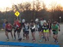 Start of the MadCity 100K National Championship