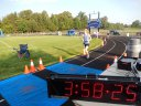 Nearing 8:00 am... final minutes of the BLS 24-12-6 Hour track ultra run!