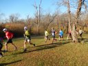 Permian Fall 50-Km Runners on their Start Parade Loop : Saturday November 14, 2015