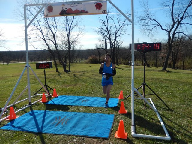 25-Km Champion, Dan Regalado of Oak Lawn!
