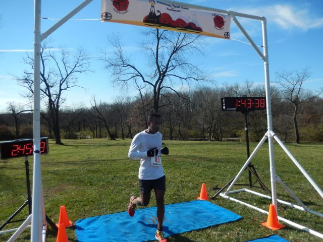 Sunil Hanoman of Carol Stream finishes 3rd Overall in the 25-Km!