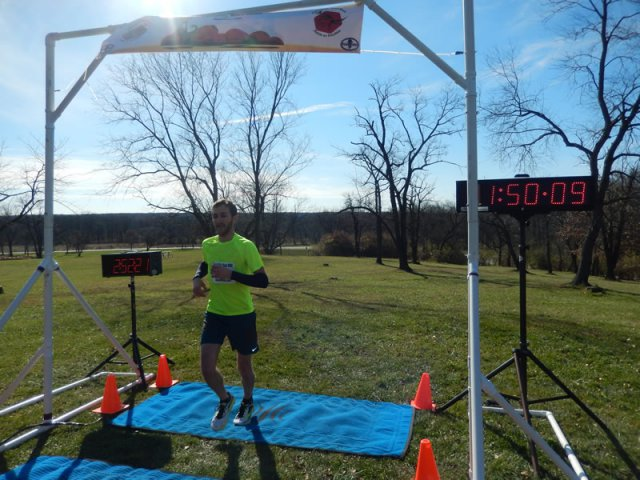 Elias Theodosis of Evanston finishes 5th Overall in the 25-Km