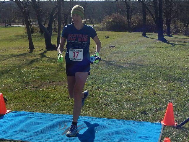 25-Km Female Champion, Annabelle Winters of Chicago!