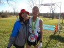 Bob Sievert of Benton Harbor, MI, 60-Up Age Group Champion with his wife/soup server!