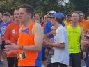 5-Km Runners Assemble at Start Line