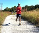Action as Captured by Big Lizard 10-Mile Runner, Karen Davis